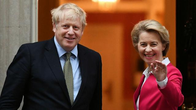 Johnson participó en conversaciones cruciales sobre el Brexit con von der Leyen. - ft.com