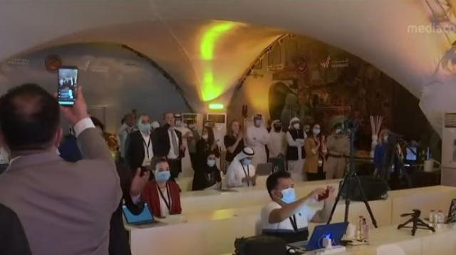 UAE successfully launches Arab world's first Mars mission. [Image source/CNA YouTube video]