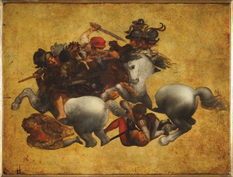 La Battaglia di Anghiari: Leonardo da Vinci