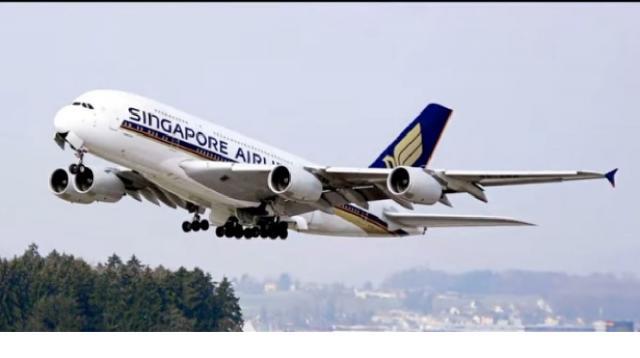Singapore Airlines 'A380 Restaurant.' [Image source/Karthigai Puu YouTube video]