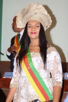 L'honorable Député du PCRN, Nourane Moluh Hassan épouse Fotsing (c) Nourane Fotsing