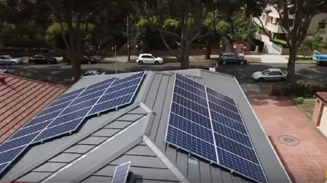 The rise of solar power. [Image source/CNBC YouTube video]