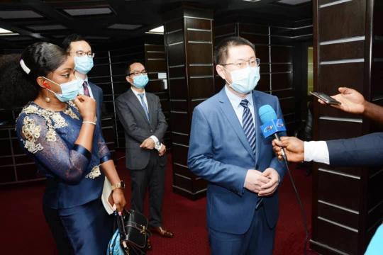 Interview du Directeur régional de Huawei cameroun (c) Huawei cameroun
