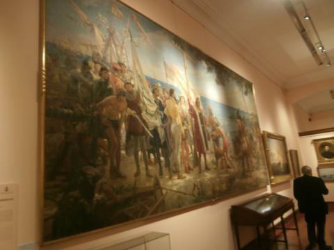 La sala de los descubrimientos, una de las más completas y logradas del nuevo museo