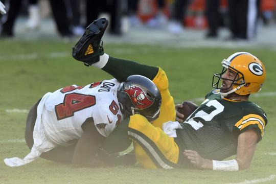 Aaron Rodgers sigue estando lejos de Tom Brady - www.ksat.com