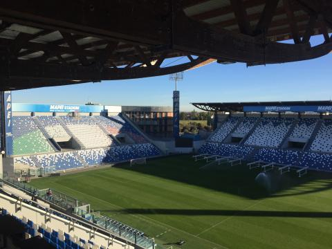Mapei Stadium Reggio Emilia, diretta live Sassuolo-Torino