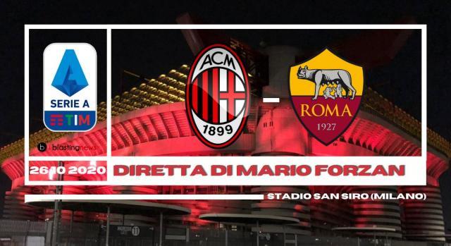 Serie A: Milan - Roma chiude la giornata di campionato.