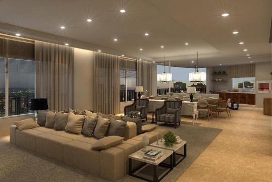 Apartamento de Gusttavo Lima fica localizado em Goiânia. (Reprodução)