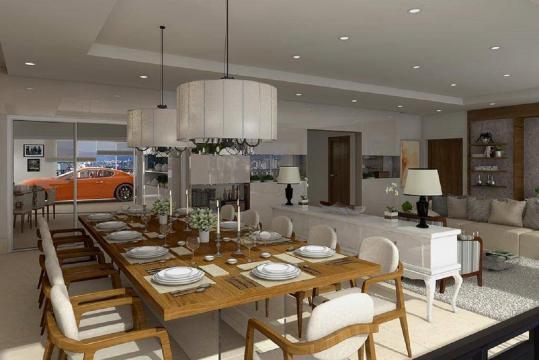 Cada apartamento equivale a R$ 3.682.375,48. (Reprodução)