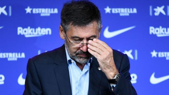 Josep Maria Bartomeu 'threw in the towel' | Tension still brewing ... - skysports.com