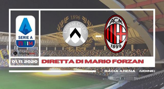 Serie A: A pranzo il Milan capolista gioca a Udine. Fischio d'inizio alle 12.30.