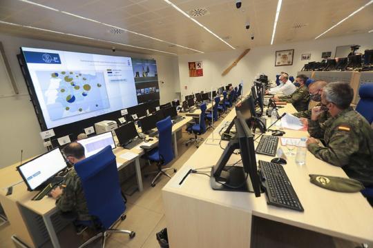 Las instalaciones del MOPS disponen de la mayor tecnología aplicada a las operaciones, incluida la accion contra la pandemia