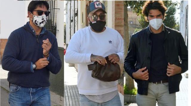 Los tres hermanos Rivera saltándose el confinamiento de la junta de Andalucía.