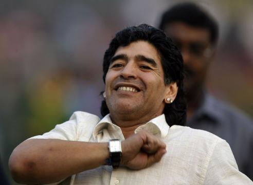 Maradona, addio al