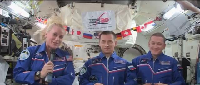 How will the space station crew celebrate 20th Anniversary of ISS? : Astronaut Kate Rubins Explains. [Image source/Space Explorer YouTube video]