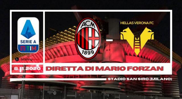 Milan - Hellas Verona chiude la settima giornata di Serie A alle ore 20.45
