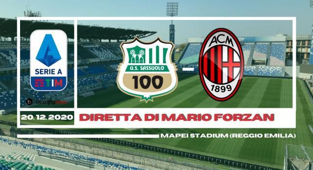 Sassuolo - Milan in diretta dal Mapei Stadium alle ore 15.