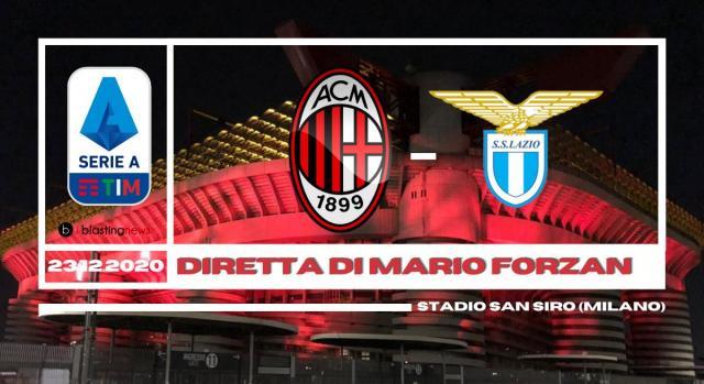 Ultima partita per il 2020, a San Siro Milan Lazio con la diretta di Mario Forzan