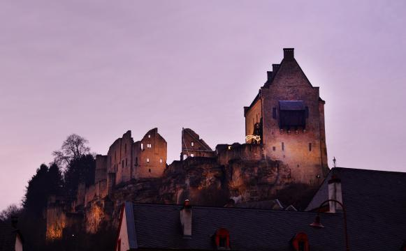 Larochette Castle, Luxembourg. [Photo by Anél du Preez]