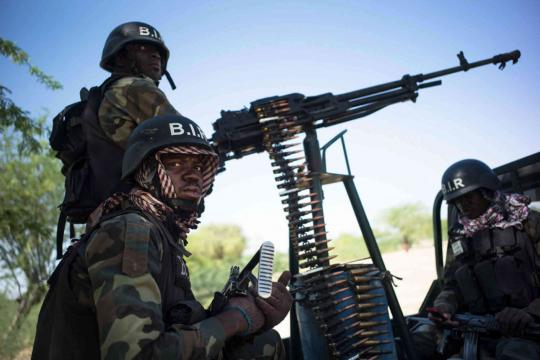 L'armée camerounaise face à la guérilla de Boko Haram - lemonde.fr