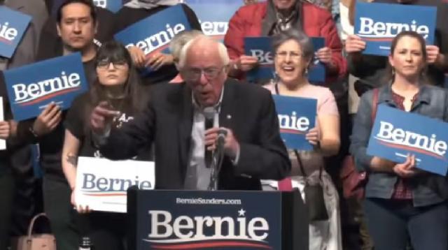 Bernie Sanders wins Nevada Caucuses. [Image source/NBC News YouTube video] https://www.youtube.com/watch?v=-WPq1WNuMKM
