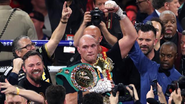 Fury es el mejor peso pesado en la actualidad. www.yahoo.com