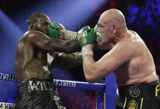 Tyson Fury le dio una paliza enorme a Deontay Wilder. www.spokesman.com