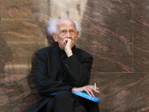 Zygmunt Bauman, sociólogo y filósofo, autor de la obra