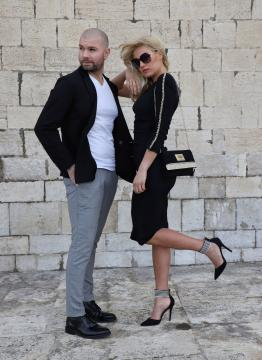 Raffaella Di Caprio con Miky Falcicchio