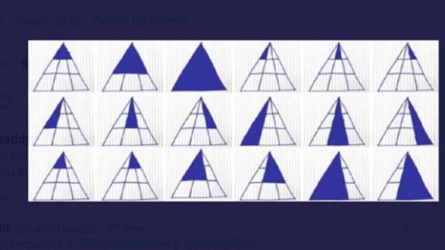 Solución del desafío de los triángulos