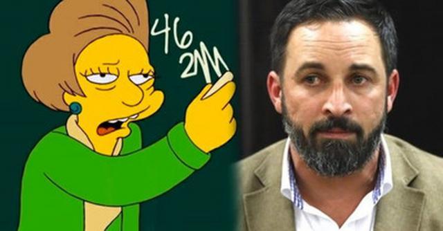 El día en que los Simpsons predijeron el 'pin parental' de VOX. / vistoenlasredes.com