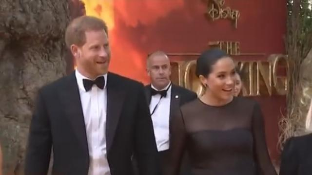 Meghan Markle and Prince Harry in first public appearance since Royal exit. [Image source/Access YouTube video]
