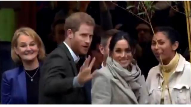 Prince Harry, Meghan Markle in South Florida. [Image source/CBS Miami YouTube video]
