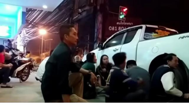 At least 20 dead in Thailand shooting rampage. [Image source/Sky News Australia YouTube video]