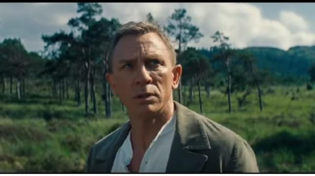 James Bond 007 No Time to Die Trailer #2 Official (NEW 2020) Daniel Craig Action Movie. [Image source/FilmSpot Trailer YouTube video]