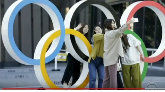 Japan going ahead with Tokyo Olympics 2020 despite serious coronavirus concerns. [Image source/CBS News YouTube video]