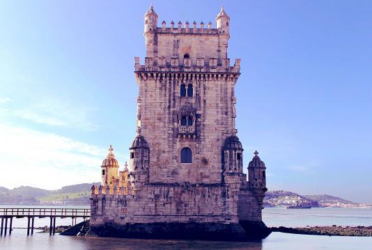 La Torre di Belém, dichiarata Patrimonio Mondiale dell'Umanità dall'Unesco - Lisbona