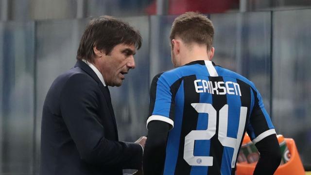 Antonio Conte: I didn't want to use Christian Eriksen so soon ... - foxsportsasia.com