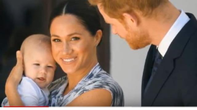 Meghan Markle shares sweet post to mark first Mother's Day with baby Archie. [Image source/Story UK TV YouTube video]