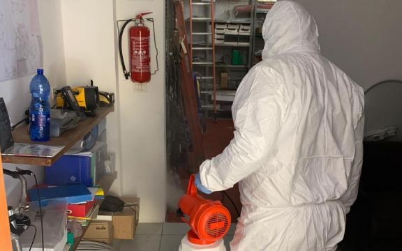 Sea Favignana - interventi di sanificazione degli uffici 1