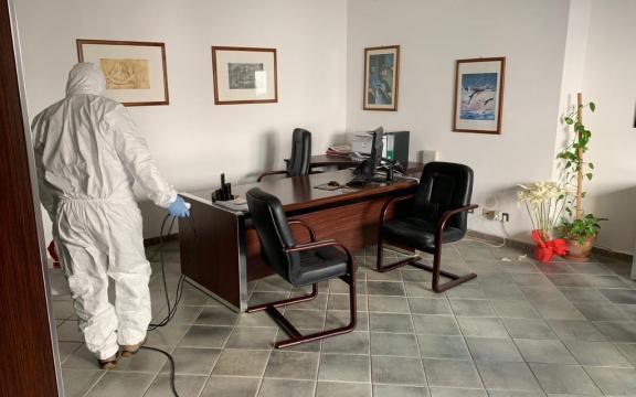 Sea Favignana - interventi di sanificazione degli uffici 2