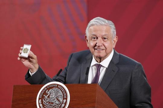 Andrés Manuel López Obrador resta seriedad a la pandemia | People ... - peopleenespanol.com