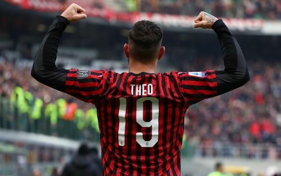 Milan, il terzino Theo Hernandez.