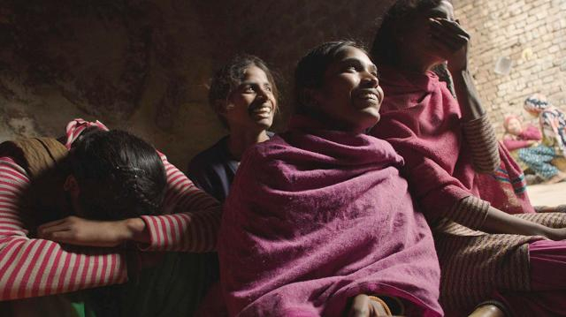 Chicas del documental ganador del óscar Period. End of Sentence.