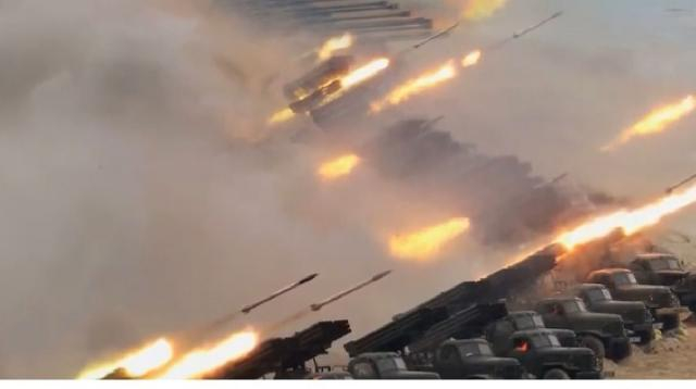 North Korea fires 3 unidentified projectiles into East Sea. [Image source/ARIRANG NEWS YouTube video]