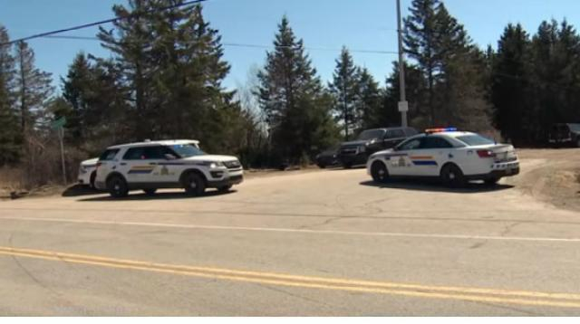 At least 16 killed in Nova Scotia, Canada, shooting rampage. [Image source/CBC News: The National YouTube video]