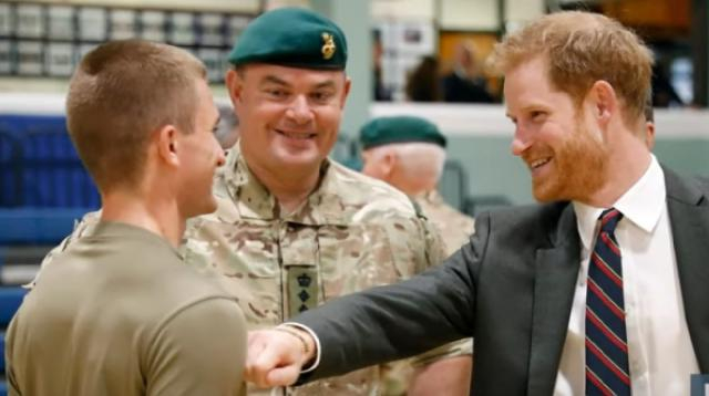 Prince Harry launches first Charity after Royal Exit. [Image source/ E! News YouTube video]