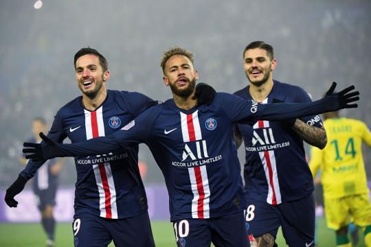 Neymar llama al escuadrón actual de PSG