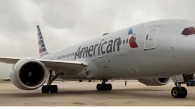 American Airlines collapsing flights and routes. [Image source/Ishrion Aviation YouTube video]