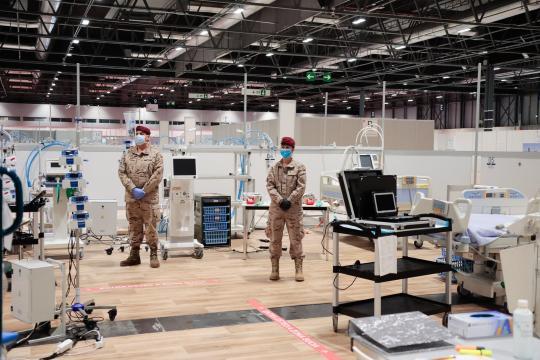 El hospital se dotó con los equipos técnicos más avanzados y el personal más especializado